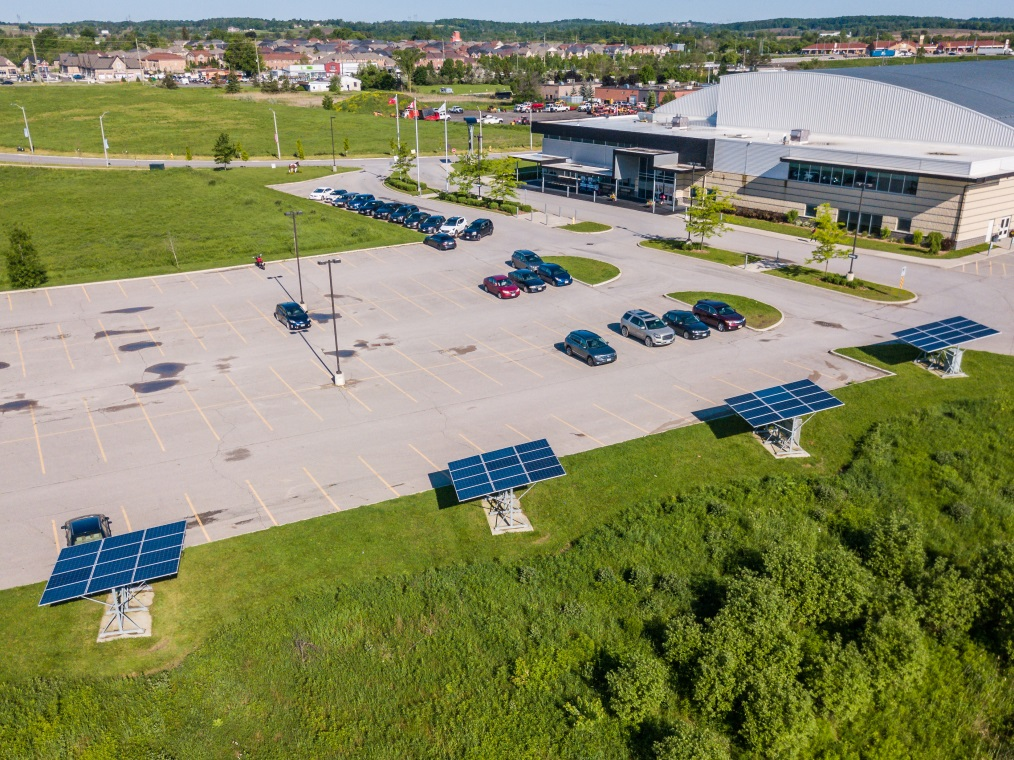 Picture of Solar Panels at Trisan Centre