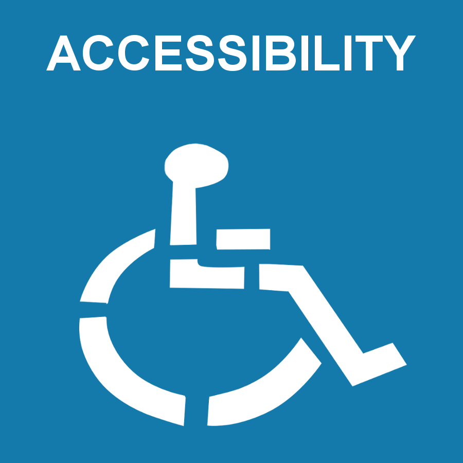 Image of wheelchair for accessibility image
