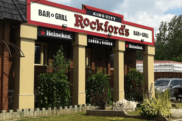 Exterior Rockfords Bar