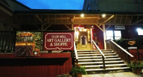 Olde Mill Art Gallery building front